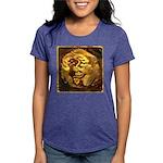 GOLDEN DRAGON Womens Tri-blend T-Shirt