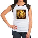 GOLDEN DRAGON Junior's Cap Sleeve T-Shirt