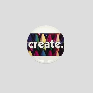Create - Crayons - Crafts Mini Button