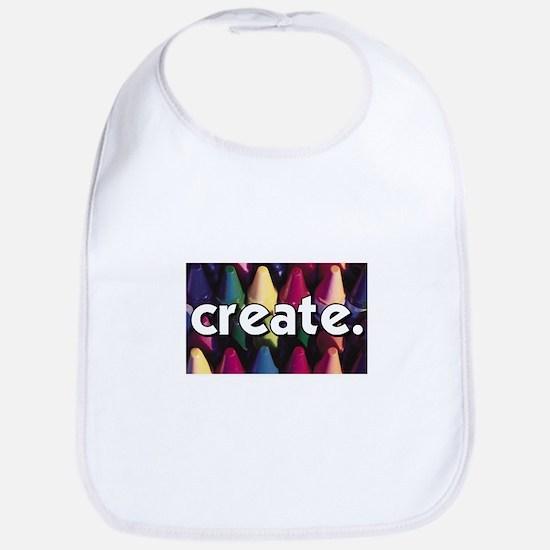 Create - Crayons - Crafts Bib