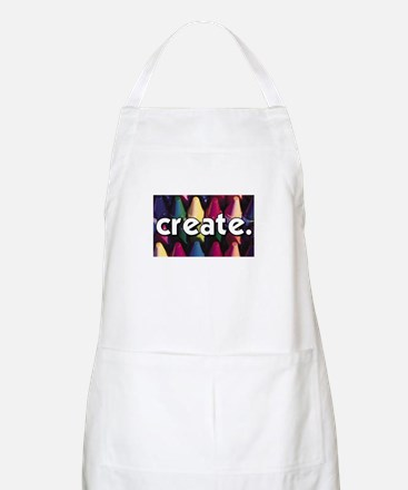 Create - Crayons - Crafts BBQ Apron