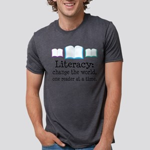 literacy chg one reader at a time T-Shirt