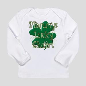Mommys Lucky Charm Long Sleeve T-Shirt