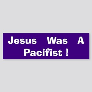 Pacifist<BR> Bumper Sticker