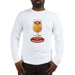 Genealogists Beer Long Sleeve T-Shirt