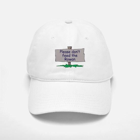 Please don't feed the Rowan Baseball Baseball Cap
