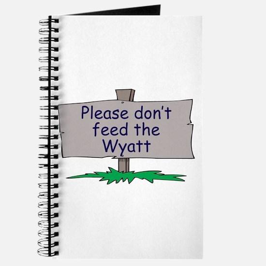 Please don't feed the Wyatt Journal