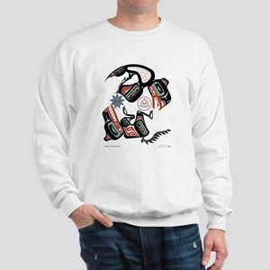 Eagle & Wolf Rising Sweatshirt