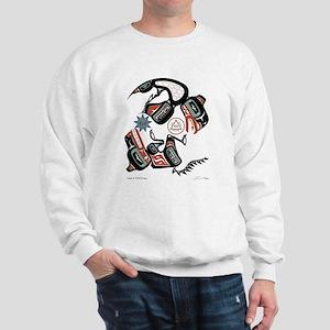 Eagle & Wolf Rising Sweatshirt
