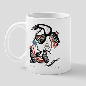 Eagle & Wolf Rising Mug