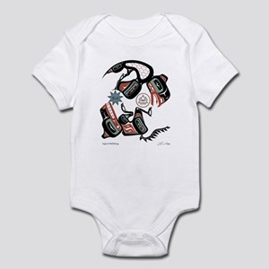 Eagle & Wolf Rising Infant Bodysuit