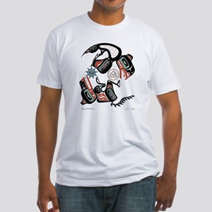 Eagle & Wolf Rising Fitted T-Shirt