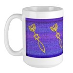 Messianic Seal Of Jerusalem Large Mug