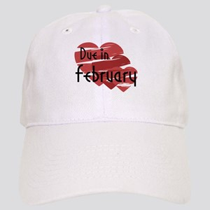 Due In February Red Hearts Cap