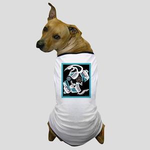 Eagle & Wolf Rising Dog T-Shirt