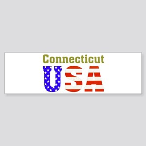 Connecticut USA Bumper Sticker