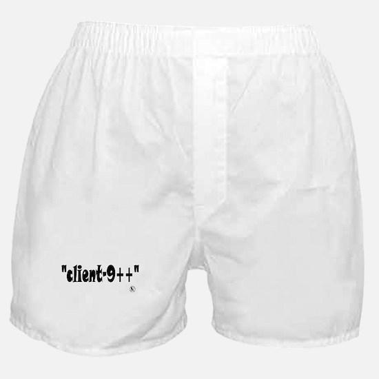 Client-9++ Boxer Shorts
