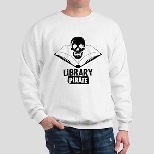 Library Pirate Sweatshirt