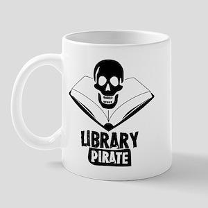Library Pirate Mug