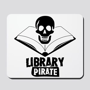 Library Pirate Mousepad