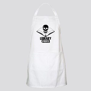 Library Pirate BBQ Apron