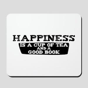 Tea & A Good Book Mousepad