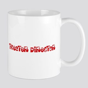 Theater Director Profession Heart Design Mugs