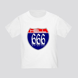 HELL ROUTE 666 Toddler T-Shirt