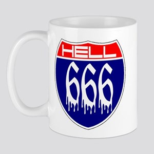 HELL ROUTE 666 Mug