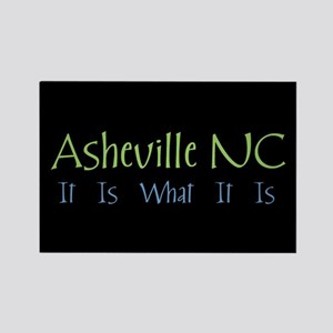 Asheville NC It Is Rectangle Magnet (10 pack)