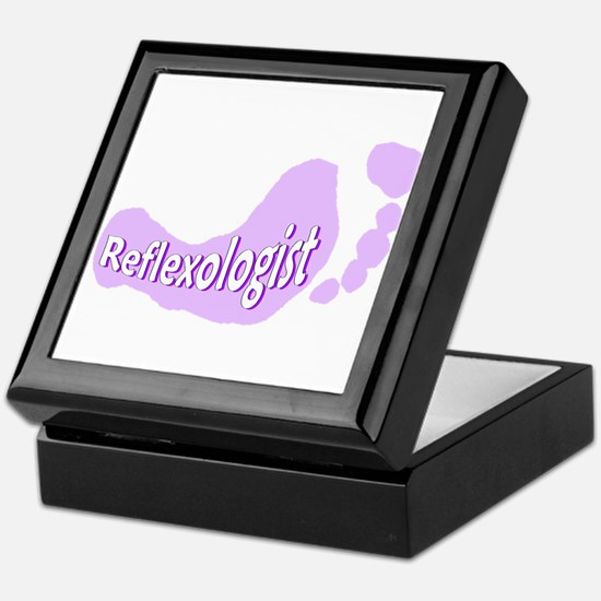 Reflexologist Keepsake Box