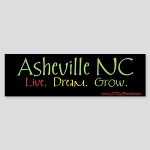 Asheville LDG Bumper Sticker