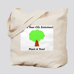 Offset CO2 Tote Bag