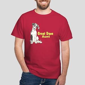 NH Pup GD Aunt Dark T-Shirt