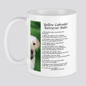 Yellow Lab Rules Mug