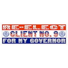 Re-Elect Client No. 9 Bumper Bumper Sticker