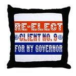 Re-Elect Client No. 9 Throw Pillow