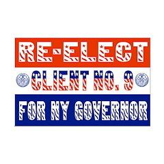 Re-Elect Client No. 9 Posters