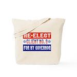 Re-Elect Client No. 9 Tote Bag