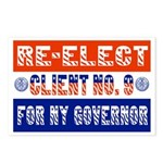 Re-Elect Client No. 9 Postcards (Package of 8)
