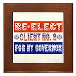 Re-Elect Client No. 9 Framed Tile