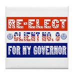 Re-Elect Client No. 9 Tile Coaster