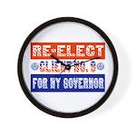 Re-Elect Client No. 9 Wall Clock