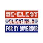 Re-Elect Client No. 9 Rectangle Magnet