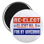 Re-Elect Client No. 9 Magnet