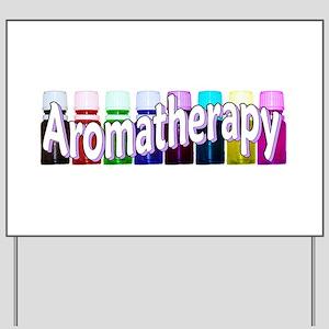 Aromatherapy Yard Sign