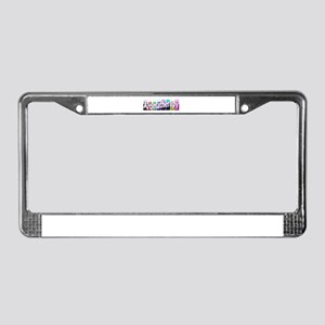 Aromatherapy License Plate Frame