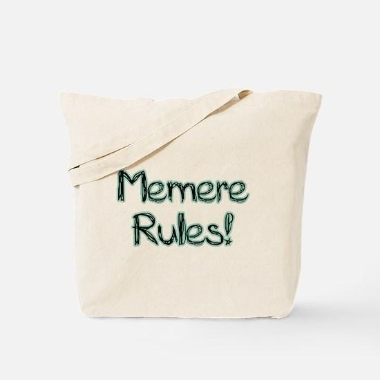 Memere Rules! Tote Bag
