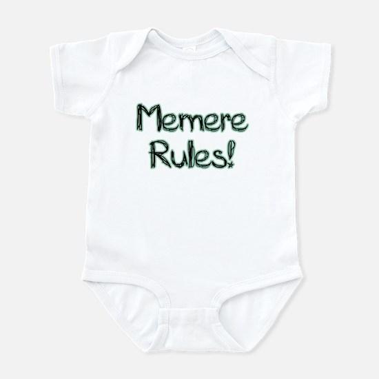 Memere Rules! Infant Bodysuit