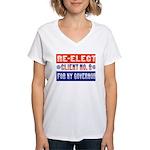 Re-Elect Client No. 9 Women's V-Neck T-Shirt